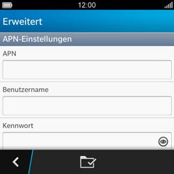 BlackBerry Q5 - MMS - Manuelle Konfiguration - Schritt 8