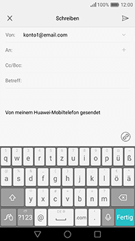 Huawei P9 Plus - E-Mail - E-Mail versenden - 1 / 1
