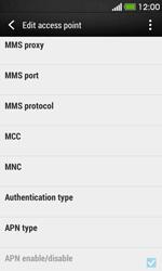 HTC Desire 500 - Internet - Manual configuration - Step 12