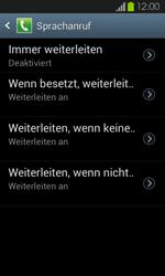 Samsung Galaxy S2 mit Android 4.1 - Anrufe - Rufumleitungen setzen und löschen - 1 / 1