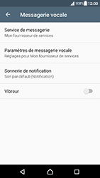 Sony Xperia XA (F3111) - Android Nougat - Messagerie vocale - Configuration manuelle - Étape 6
