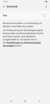 Samsung Galaxy Note9 - Android Pie - Bluetooth - Verbinden von Geräten - Schritt 6