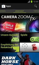 Samsung Galaxy S II - Apps - Installieren von Apps - Schritt 4