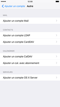 Apple iPhone 6s Plus - E-mail - Configuration manuelle - Étape 7