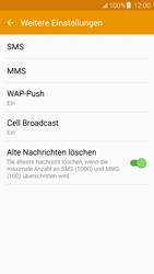 Samsung J500F Galaxy J5 - SMS - Manuelle Konfiguration - Schritt 8