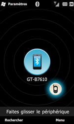 Samsung B7610 Omnia Qwerty - Bluetooth - connexion Bluetooth - Étape 10