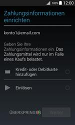 Samsung G388F Galaxy Xcover 3 - Apps - Konto anlegen und einrichten - Schritt 17