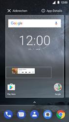 Nokia 3 - Startanleitung - Installieren von Widgets und Apps auf der Startseite - Schritt 5