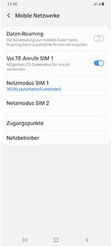 Samsung Galaxy A70 - Netzwerk - So aktivieren Sie eine 4G-Verbindung - Schritt 6
