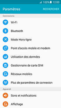 Samsung Galaxy A8 - WiFi - Configuration du WiFi - Étape 4