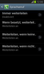 Samsung I8190 Galaxy S3 Mini - Anrufe - Rufumleitungen setzen und löschen - Schritt 7