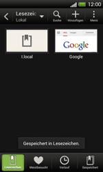 HTC One SV - Internet und Datenroaming - Verwenden des Internets - Schritt 13
