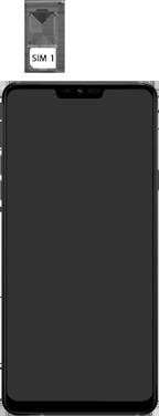 LG g7-fit-dual-sim-lm-q850emw-android-pie - Instellingen aanpassen - SIM-Kaart plaatsen - Stap 4