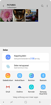 Samsung Galaxy A9 (2018) - contacten, foto