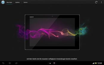 Sony Xperia Tablet Z LTE - Software - Installieren von Software-Updates - Schritt 8
