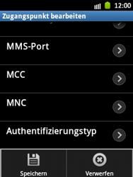 Samsung Galaxy Pocket - MMS - Manuelle Konfiguration - Schritt 14