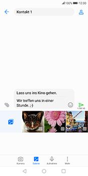Huawei Mate 10 Lite - MMS - Erstellen und senden - 2 / 2