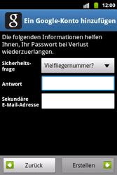 Samsung S5690 Galaxy Xcover - Apps - Konto anlegen und einrichten - Schritt 8