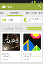 Samsung Galaxy Fame Lite - Apps - Installieren von Apps - Schritt 5