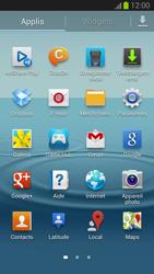 Samsung Galaxy S III - Prise en main - Installation de widgets et d
