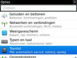 BlackBerry 9900 Bold Touch - Instellingen - ontvangen via SMS - Stap 4