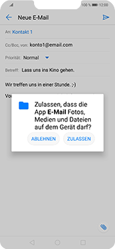 Huawei Nova 3 - E-Mail - E-Mail versenden - 11 / 17