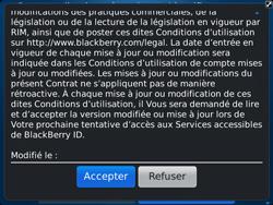 BlackBerry 9900 Bold Touch - BlackBerry activation - BlackBerry ID activation - Étape 7