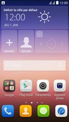 Huawei Ascend Y625 - Internet - Configuration automatique - Étape 3