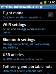 Samsung Galaxy Pocket - WiFi - WiFi configuration - Step 5