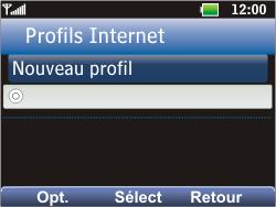 LG C360 Golf - Internet - Configuration manuelle - Étape 21