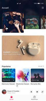 Huawei P40 Pro - Photos, vidéos, musique - Ecouter de la musique - Étape 6