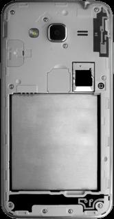 Samsung Galaxy J3 (2016) - SIM-Karte - Einlegen - 6 / 9