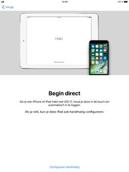 Apple iPad Mini 3 - iOS 11 - Toestel - Toestel activeren - Stap 9