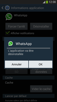 Samsung Galaxy Note III LTE - Applications - Comment désinstaller une application - Étape 8