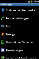 Samsung S5830 Galaxy Ace - WLAN - Manuelle Konfiguration - Schritt 4