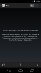 Acer Liquid Jade - WiFi - configuration du WiFi - Étape 5