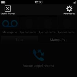 BlackBerry Q10 - Messagerie vocale - Configuration manuelle - Étape 5
