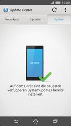 Sony Xperia Z2 - Software - Installieren von Software-Updates - Schritt 8