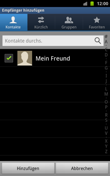 Samsung Galaxy Note - MMS - Erstellen und senden - 9 / 18