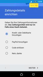 Sony E5603 Xperia M5 - Apps - Konto anlegen und einrichten - Schritt 18