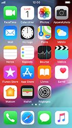 Apple iPhone SE - iOS 12 - E-mail - envoyer un e-mail - Étape 1