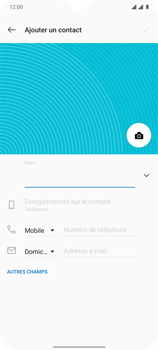 OnePlus 7T - Contact, Appels, SMS/MMS - Ajouter un contact - Étape 10