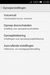 """Alcatel Pixi 3 - 3.5"""" - Voicemail - handmatig instellen - Stap 6"""