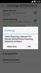 Huawei Ascend G6 - Ausland - Im Ausland surfen – Datenroaming - 8 / 11