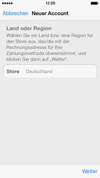 Apple iPhone 5 - Apps - Konto anlegen und einrichten - 20 / 36