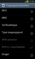 Samsung Galaxy Core (I8260) - Internet - Handmatig instellen - Stap 14