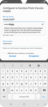 Samsung Galaxy A70 - WiFi - Comment activer un point d'accès WiFi - Étape 9