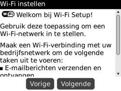 BlackBerry 8520 Curve - wifi - handmatig instellen - stap 5