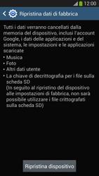 Samsung SM-G3815 Galaxy Express 2 - Dispositivo - Ripristino delle impostazioni originali - Fase 8