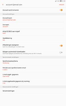 Samsung Galaxy Tab A 10.1 (SM-T585) - E-mail - Instellingen KPNMail controleren - Stap 13